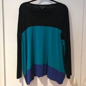 Tops - Karen Kane Colorblocked Knit Top